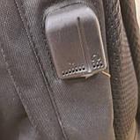 Черный тактический армейский рюкзак, фото 6