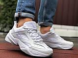 Мужские демисезонные кроссовки Nike M2K Tekno белые (Найк м2к текно чоловічі), фото 2