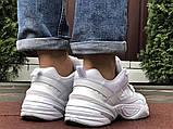 Мужские демисезонные кроссовки Nike M2K Tekno белые (Найк м2к текно чоловічі), фото 4