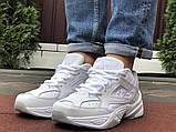 Мужские демисезонные кроссовки Nike M2K Tekno белые (Найк м2к текно чоловічі), фото 5