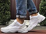 Мужские демисезонные кроссовки Nike M2K Tekno белые (Найк м2к текно чоловічі), фото 6