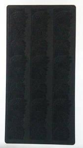 Коврик текстурный для айсинга Empire Цветочки М-0635 20х40 см