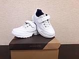 Кроссовки для мальчика белые!!! БЕЛЫЕ КРОССОВКИ НА МАЛЬЧИКА, фото 8