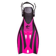 Ласты для плавания Dolvor F52JR Froggi S/M(27-31) розовый.