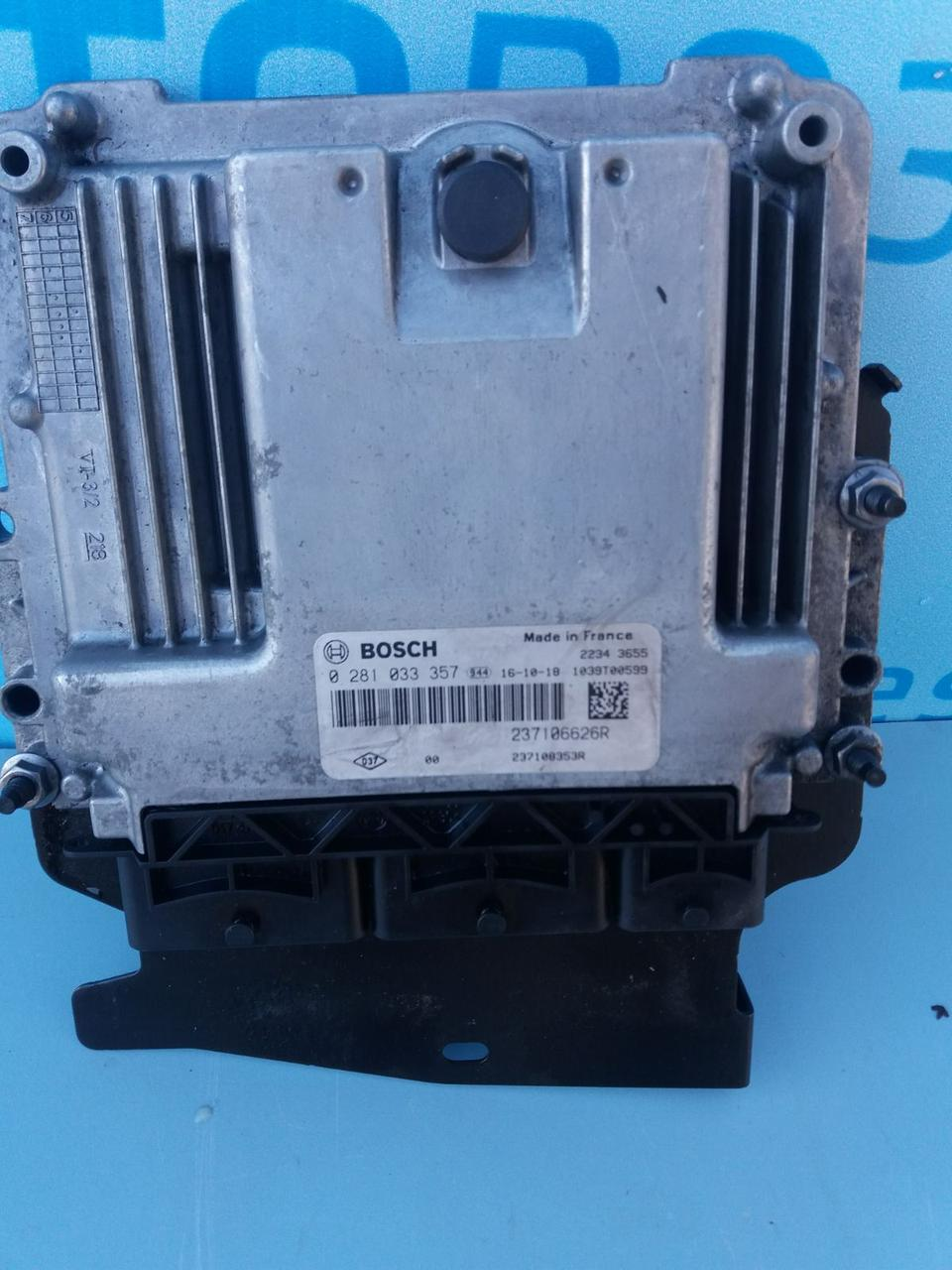 Блок управления двигателем ЕБУ мозги 0281033357 для Опель Виваро 1.6 dci Opel Vivaro 2014-2019 г. в.