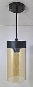 Люстра потолочная подвесная в стиле LOFT (лофт) 11295/1 Черный 30х12х12 см.