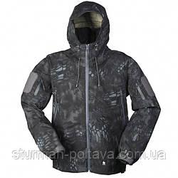 Куртка мужская демисезоная  тактическая  MANDRA BREATHABLE NIGHT MIL-TEC триламинат камуфляжная Германия