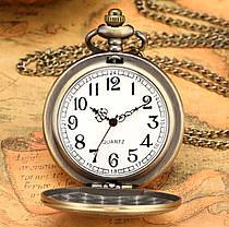 Карманные мужские часы на цепочке, фото 3