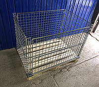Сетчатый контейнер на паллету б/у, фото 1