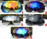 Лыжная маска горнолыжные очки защита от уф лучей, фото 1