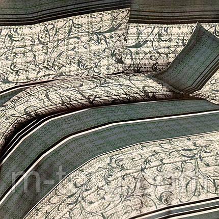 """""""узоры"""" постельное белье 3D эффект евро размер 200*220 см, нав-ки 70/70, фото 2"""