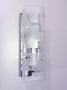 Светильник настенный/потолочный 9012/1 Хром 9х7х20 см.