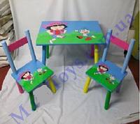 Стол и стулья Даша путешественница
