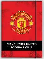Папка на резинке картонная А4, FC Manchester United