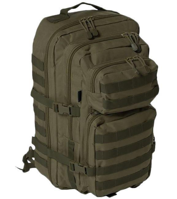 Рюкзак с одной лямкой 36л система Molle MilTec Assault оливковый 14059201