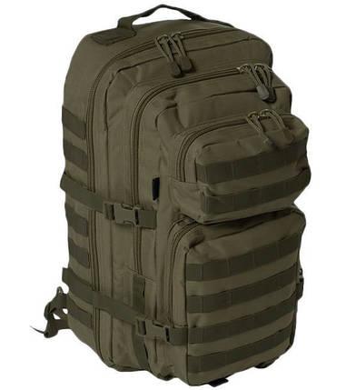 Рюкзак с одной лямкой 36л система Molle MilTec Assault оливковый 14059201, фото 2