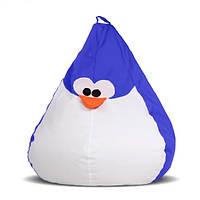 Кресло-груша Пингвин Синий, фото 1