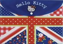 Папка на кнопке А4, Hello Kitty