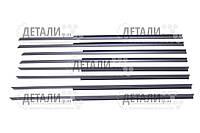 Уплотнитель низа стекла 2101-2106 комплект ресничка
