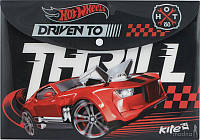 Папка на кнопке А4, Hot Wheels