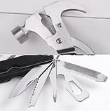Мультитул Набор Tac Tool 18 in 1 компактный инструмент с Чехлом, фото 5