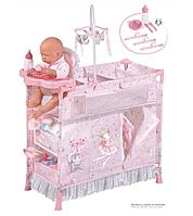 """Кровать манеж  шкаф стульчик для кормления куклы (Baby Born) """"Мария"""" DeCuevas 53034"""