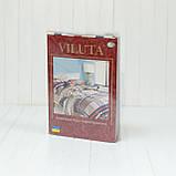 Комплект постельного белья ранфорс 17113 ТМ Вилюта, фото 6