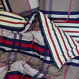 Комплект постельного белья ранфорс 17113 ТМ Вилюта, фото 3