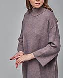 Трикотажное платье прямого силуэта. Serianno. Турция, фото 4