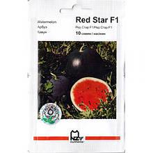 """Семена арбуза раннего, для открытого грунта и пленки """"Ред Стар"""" F1 (10 семян) от Nunhems, Голландия, Голландия"""