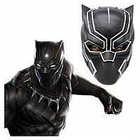Чорна Пантера Маска Black Panther Розмір 22 см - 17 см