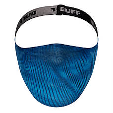 Маска защитная Buff Filter Mask Keren Blue, фото 2