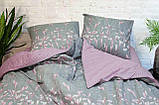 Комплект постельного белья ранфорс 17116 ТМ Вилюта, фото 4