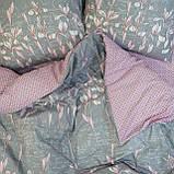 Комплект постельного белья ранфорс 17116 ТМ Вилюта, фото 2