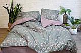 Комплект постельного белья ранфорс 17116 ТМ Вилюта, фото 3