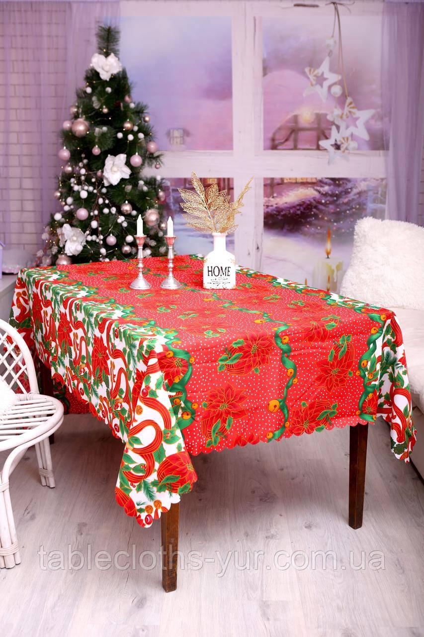 Скатертина Новорічна 150-220 «Christmas tree»