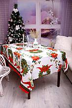 Скатертина Новорічна 150-220 «Christmas Wreath»