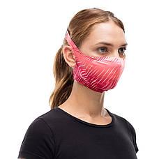 Маска защитная Buff Filter Mask Keren Flash Pink, фото 2
