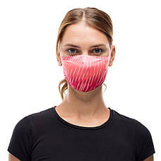 Маска защитная Buff Filter Mask Keren Flash Pink, фото 3
