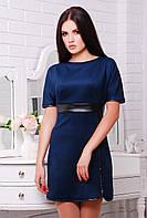 Оригинальное платье в 5ти цветах Замш, фото 1