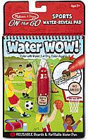 Melissa & Doug Волшебная водная многоразовая раскраска спорт 30175 On the Go Water Wow! Sports, фото 1