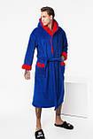 Чоловічий махровий халат, фото 3
