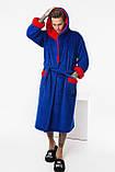 Чоловічий махровий халат, фото 4