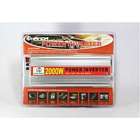 Преобразователь напряжения 2000W (инвертор 12 В/220 В 2000 Вт)