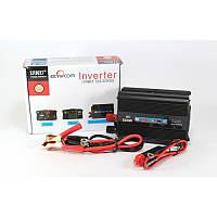 Преобразователь напряжения 500W (инвертор 24В-220В 500Вт)