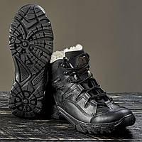 """Ботинки  """"УКР-ТЕК"""" ЧЁРНЫЕ зимние, 36-46 размеры, фото 1"""