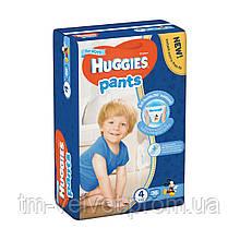 Подгузники-трусики для мальчиков Huggies Pants 4 (9-14 кг)