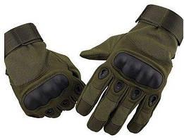 Тактические перчатки  OAKLEY OLIVE Реплика
