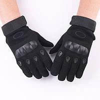 Тактические перчатки OAKLEY BLACK Реплика, фото 1