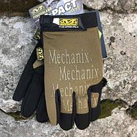 MECHANIX M-PACT COVERT GLOVES COYOTE Реплика, фото 1